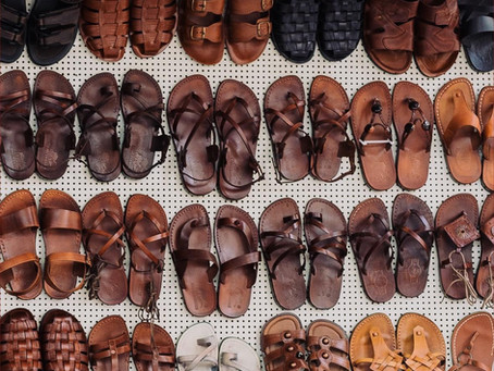 More about sandals!