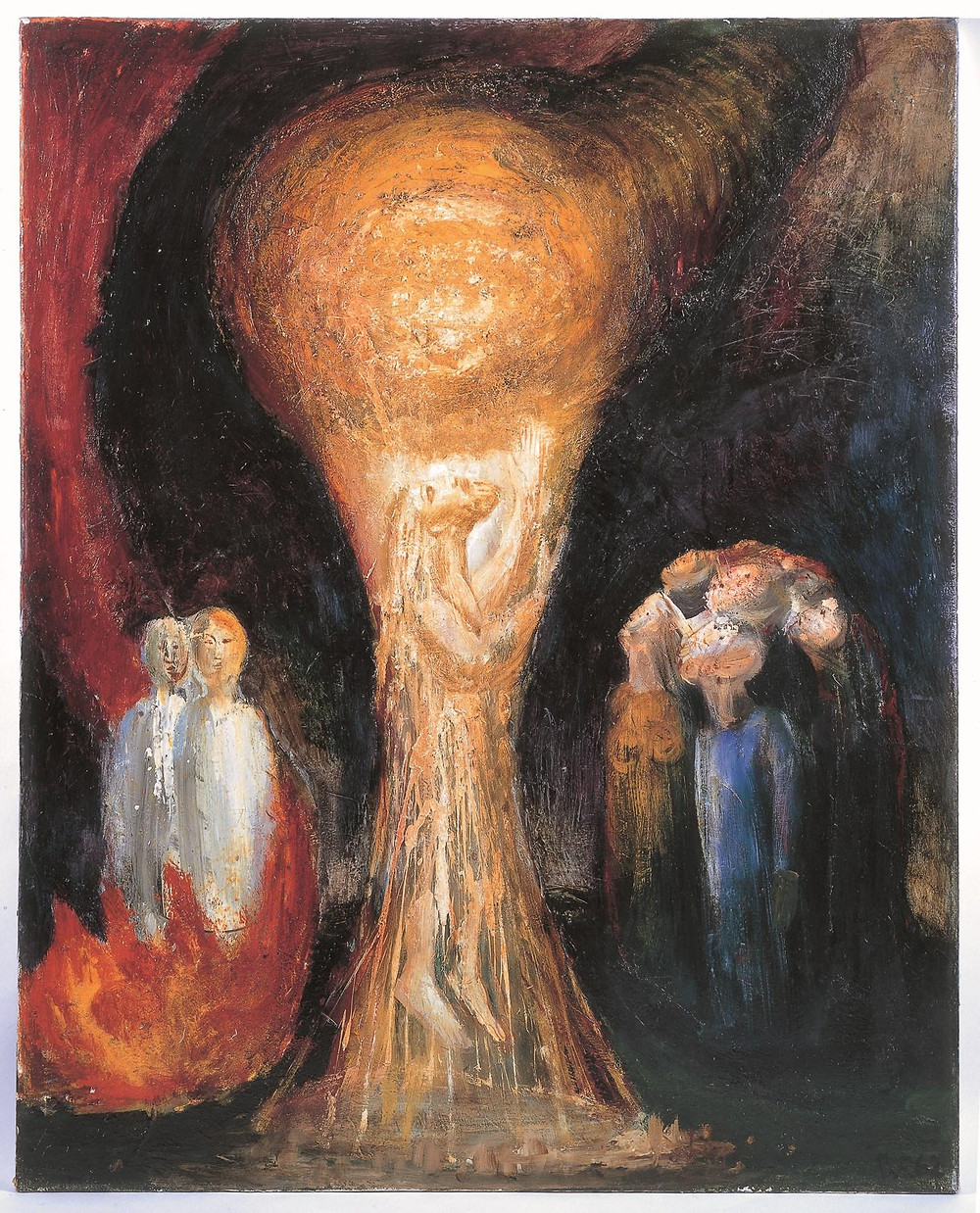 Peter Rogers' painting of the Ascension