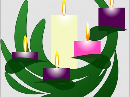 Lighting the Christmas Candle