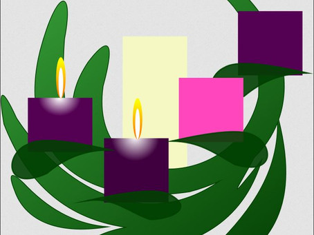 Lighting the second candle of the Advent Wreath