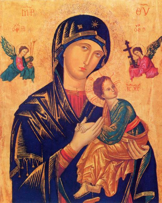Byzantine icon of Our Lady of Perpetual Succour