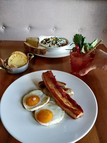 Sausage, Bacon & Egg