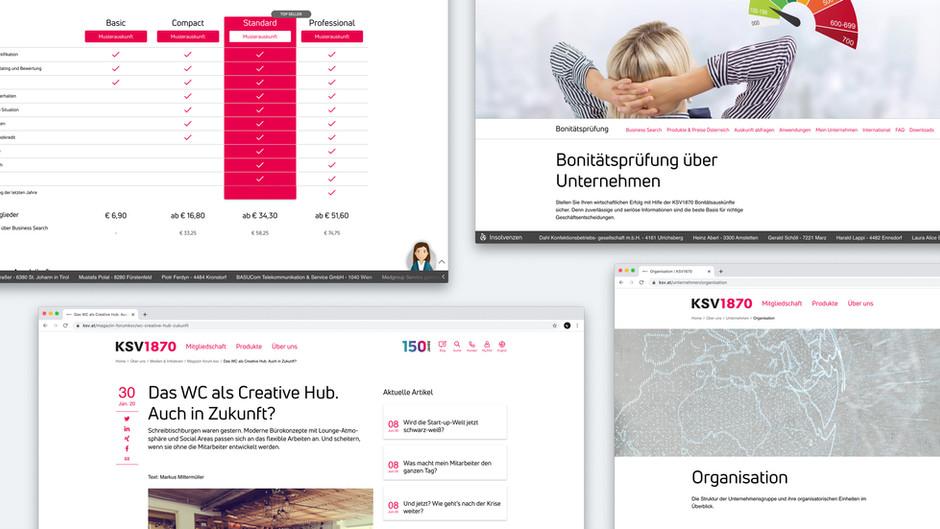 KSV1870 Next Level Corporate Website