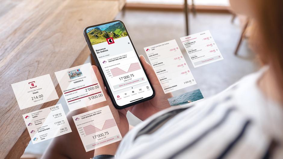 Redesign der Mobile-Banking-App für die BEKB