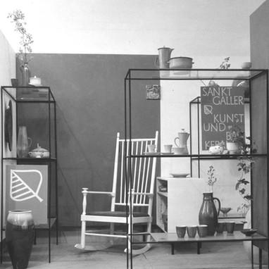 St.Galler Keramik 1955 / Messestände