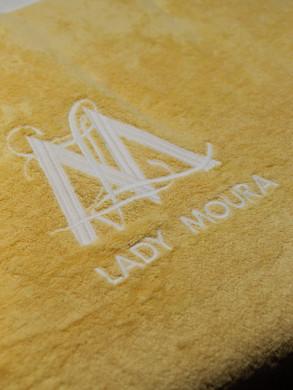 serviette jaune brodÃe M_ (002).JPG