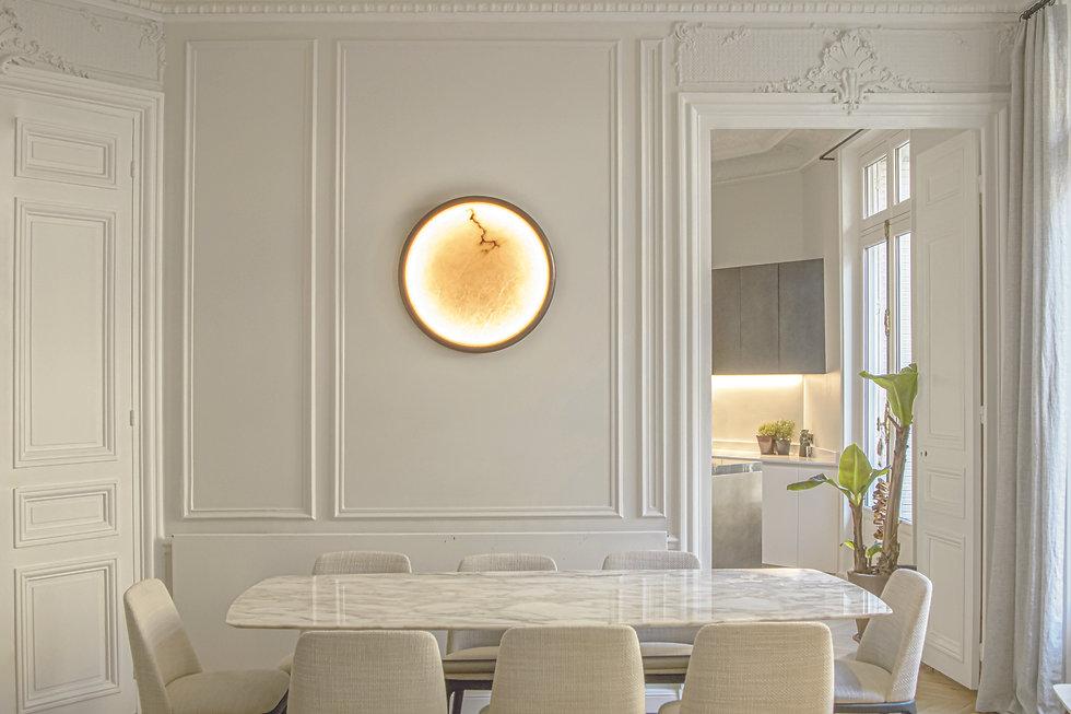 ENTRELACS WALL LAMP MOON WLMN500RO view