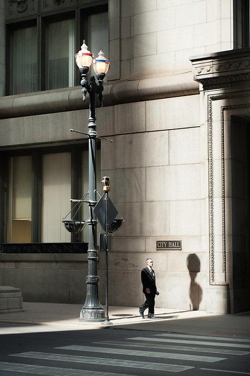 Businessman in Chicago