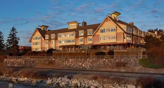The Chrysalis Inn & Spa on Bellingham Bay