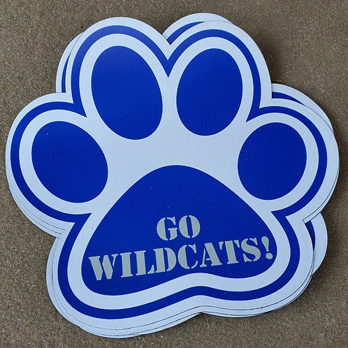 Wildcat Paw Magnet