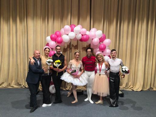 "Галаксико участва в концерт-спектакъл по случай 60години Детска балетна школа и 15 години БШ""Грация"""