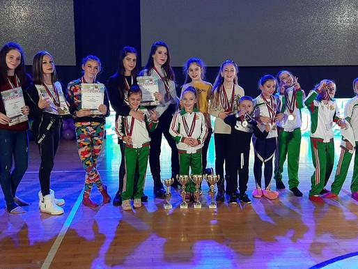 Галактически триумф постигнаха танцьорите на международно танцово състезание в Сърбия