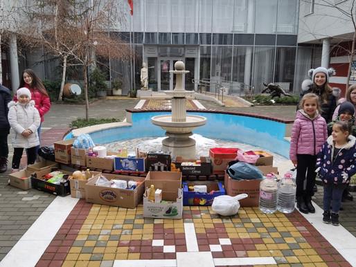 Децата от Галаксико в помощ на Иванка Тилева