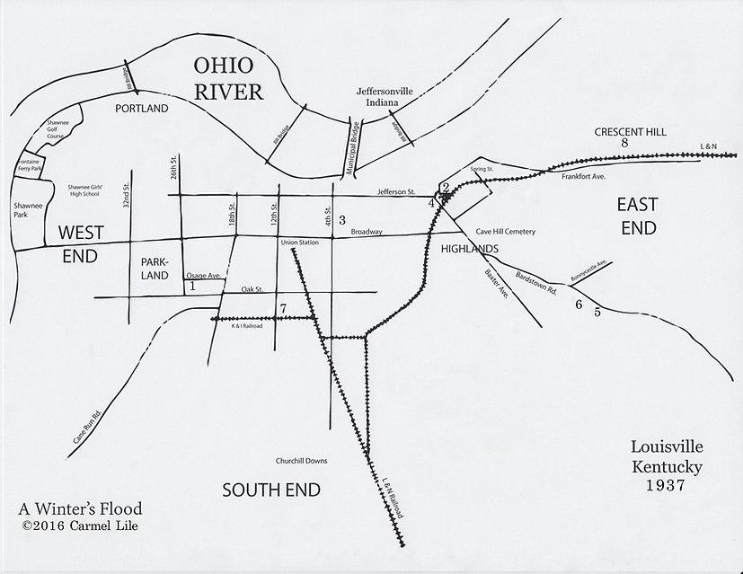 1937 Flood Louisville KY A Winter's Flood Carmel Lile