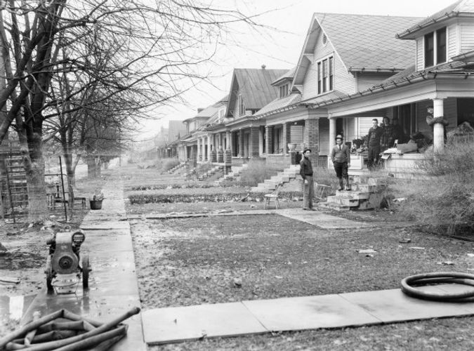 1937 Flood West End Louisville KY
