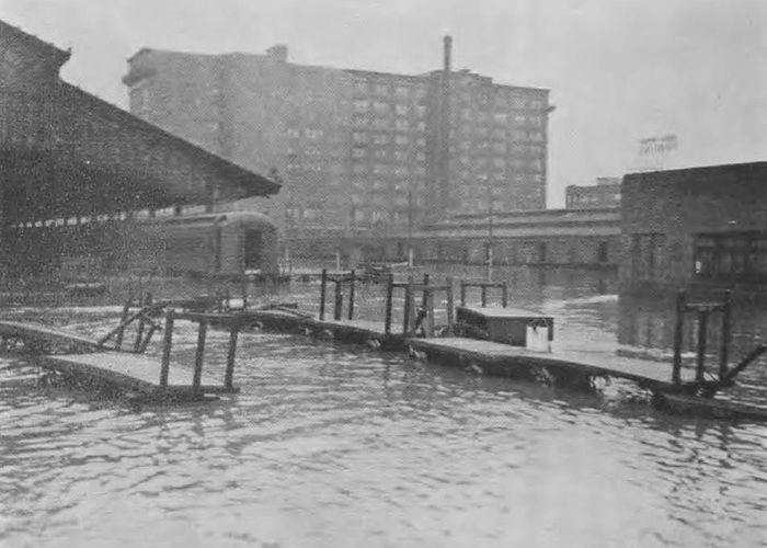 1937 Flood L&N Railroad Union Station Louisville KY