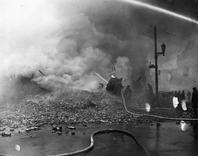 1937 Flood Fire Louisville KY