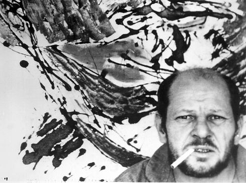 pollock with portrait and a Dream.jpg
