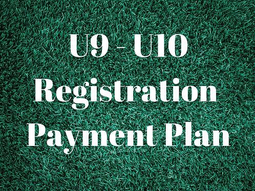 U9 - U10 Payment Plan