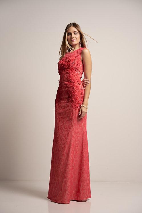 Vestido longo sereia modelo importado 04 cores