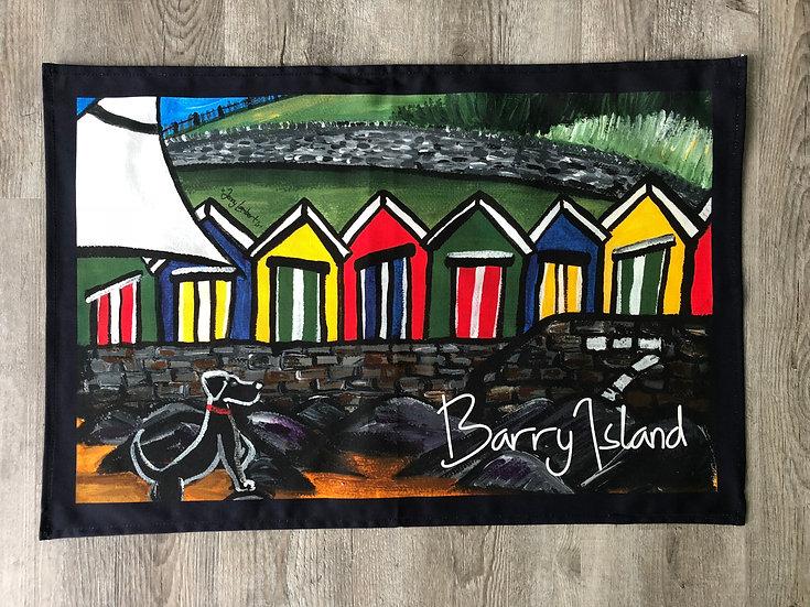Barry Island- Tea Towel