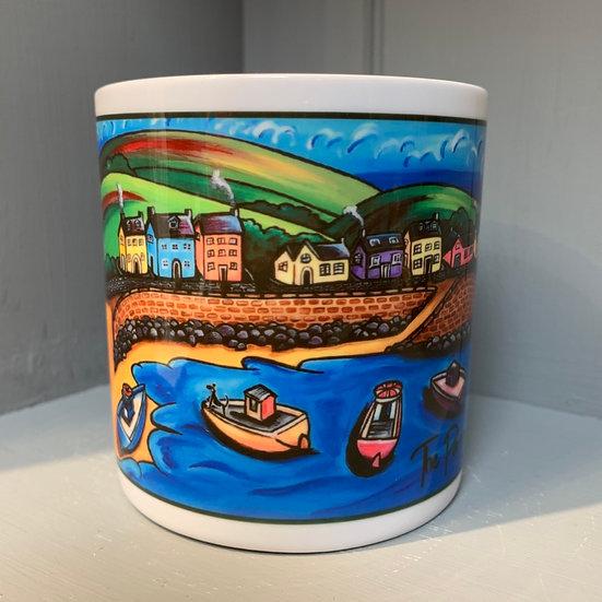 The Parrog, Newport Mug