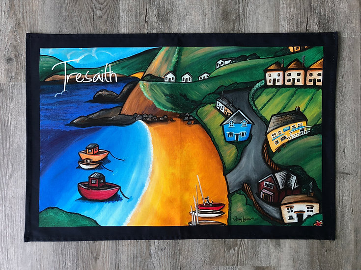 Tresaith- Tea Towel