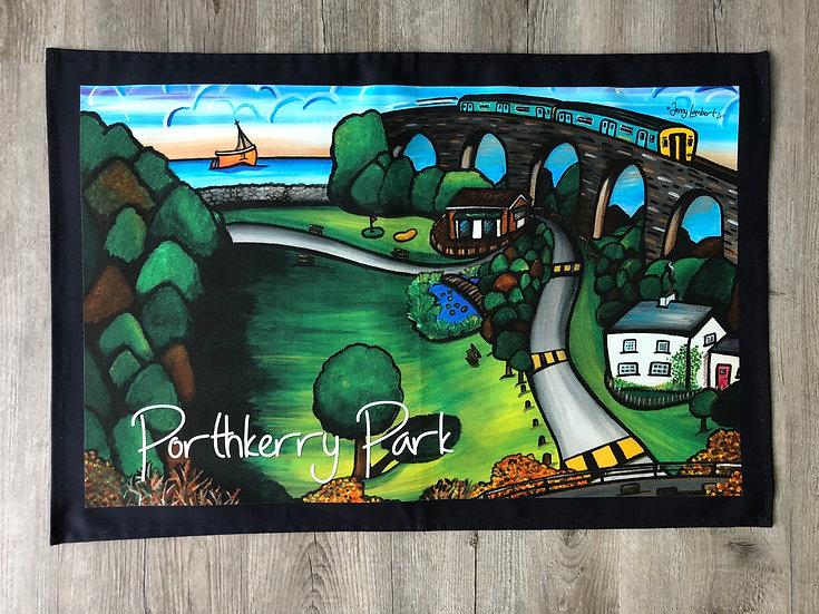 Porthkerry Park- Tea Towel