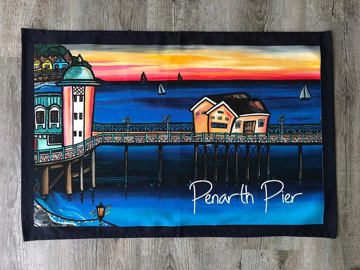 Penarth Pier- Tea Towel