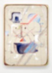 018 Untitled, 2018, oil, acrylic, pencil