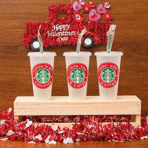 Starbucks Valentine's Day Cup
