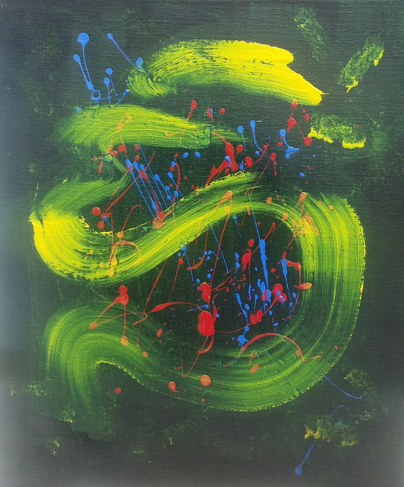 2017 - Le Serpent d'Airain - 55X46