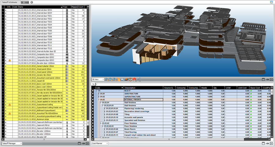 5D Cost Planning