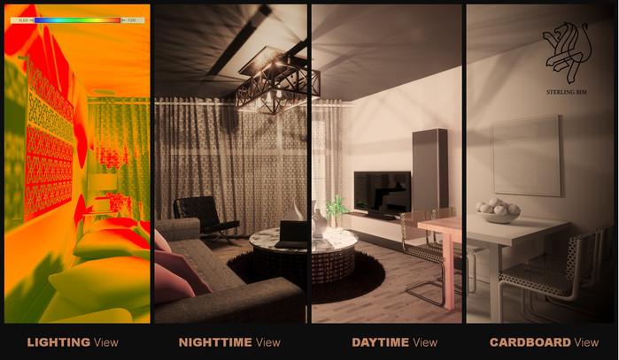 Virtual Reality walkthroughs
