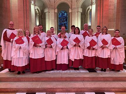 Belfast Black Santa-Choir