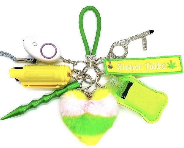 Lit AF Keychain