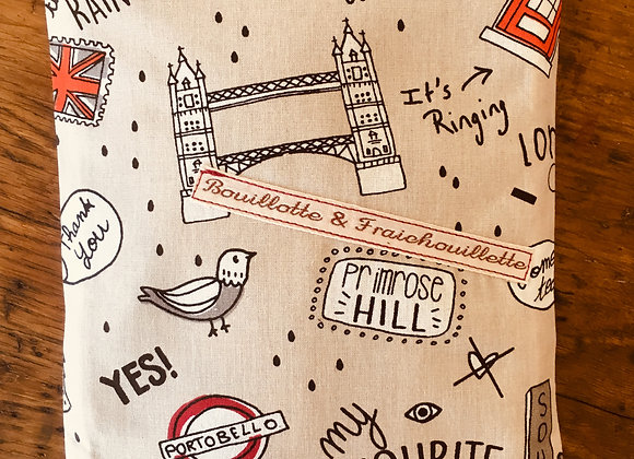 "Bouillotte & Fraichouillette ""London"""