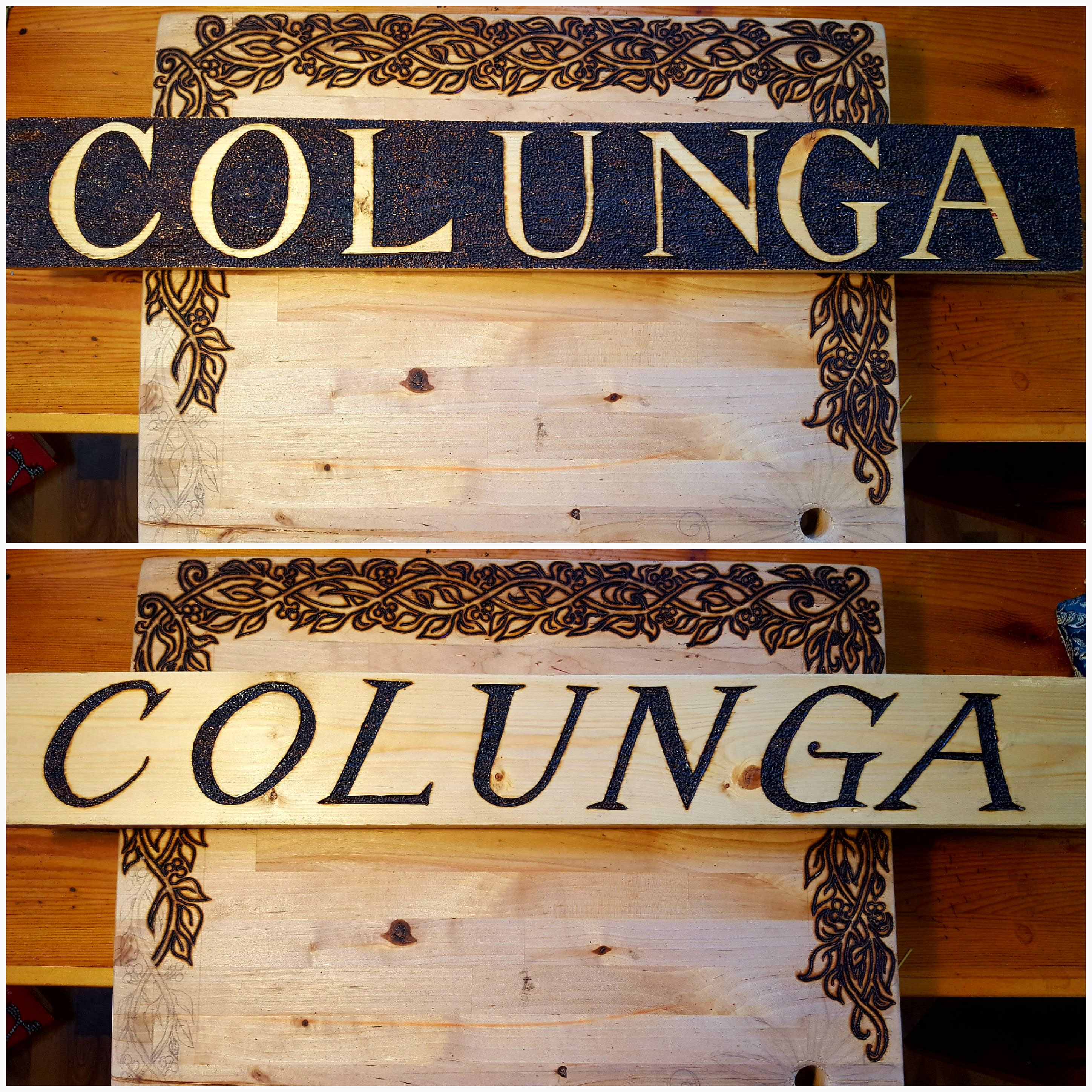 colunga jewelry sign