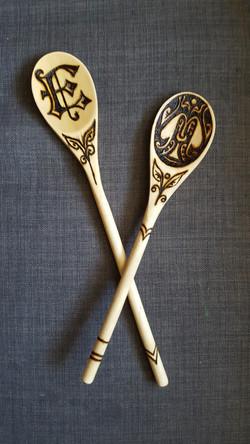 monogrammed spoons