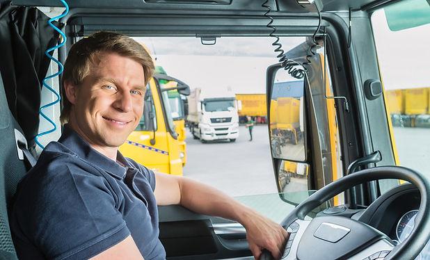 polaris Intermodal truck driver