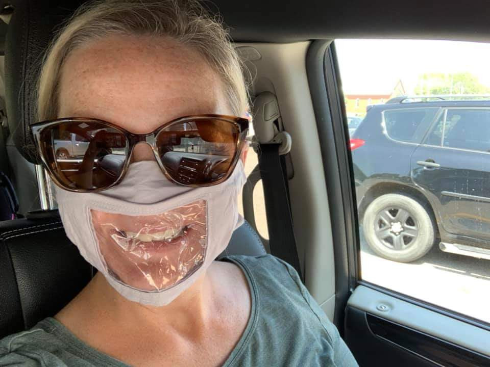 Clear Mask Donation