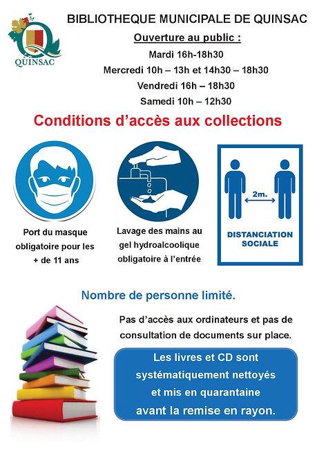 Horaires Bibliothèque couvre feu de 19h.