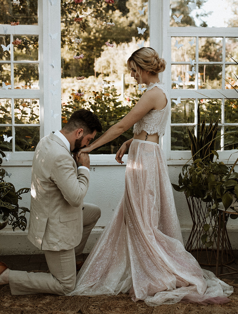 Lahaina Bridal Skirt