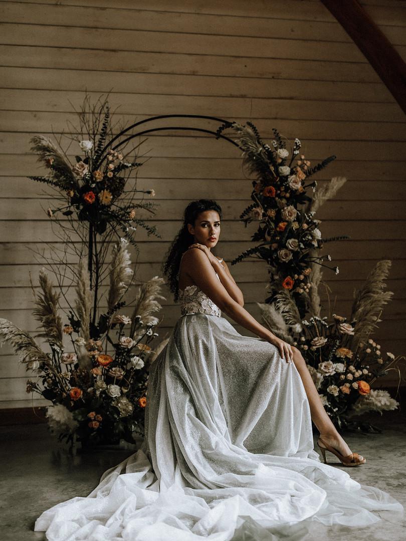 Nova Bridal Skirt