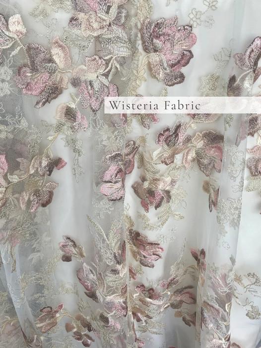 Wisteria Lace Fabric
