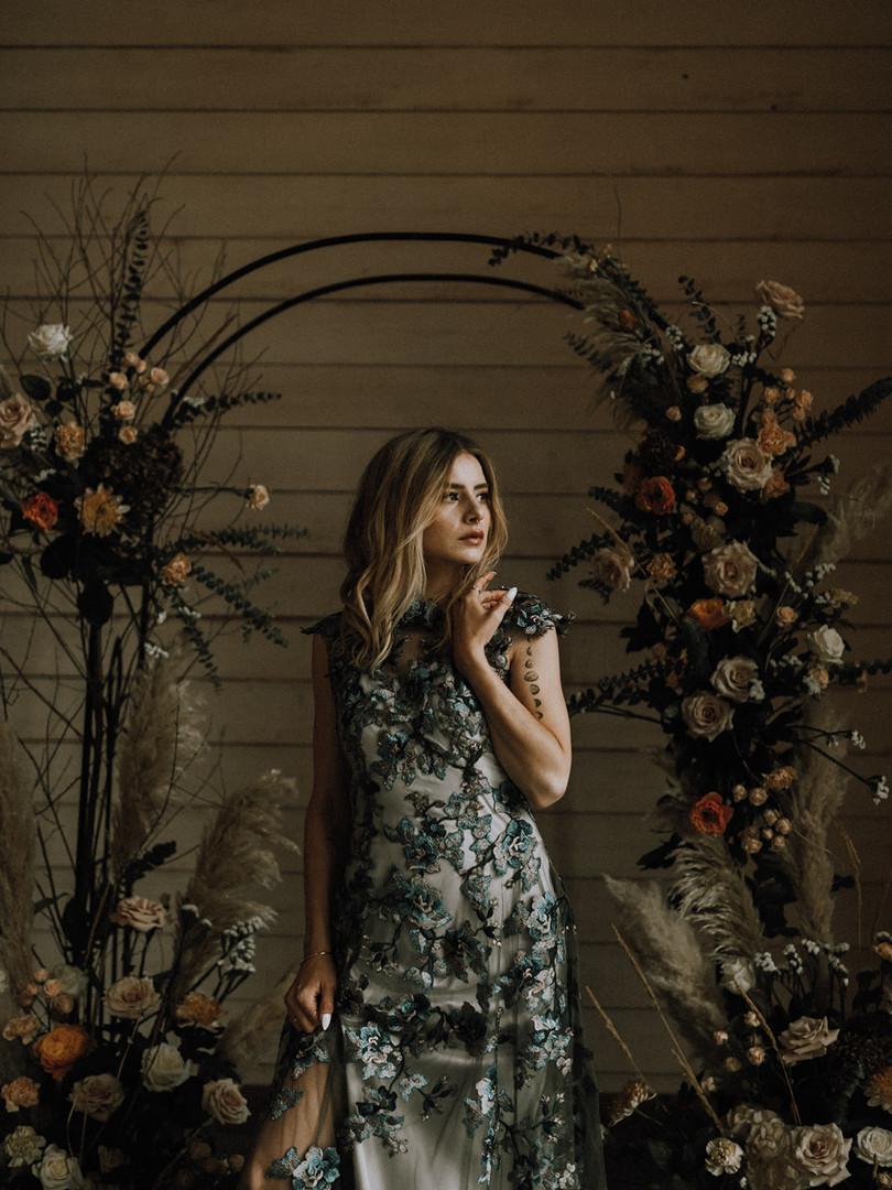 Midnight Primrose Wedding Dress