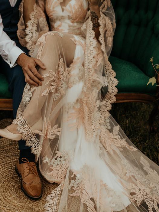 Island Wedding Dress