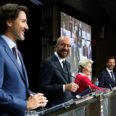 UE - CANADA : UN PARTENARIAT TRANSATLANTIQUE MODÈLE
