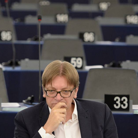 """GUY VERHOFSTADT : """"L'EUROPE RISQUE DE NE PAS SURVIVRE AU XXI ÈME SIECLE"""""""