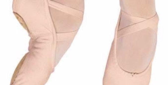 Split Sole Canvas Ballet Shoe